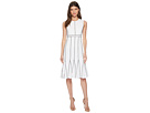 Calvin Klein Piping Fit Flare Dress CD8C16HP