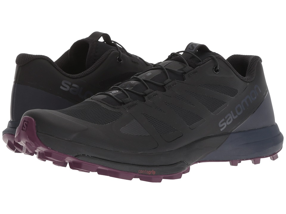 Salomon Sense Pro 3 (Black/Graphite/Potent Purple) Women's Shoes