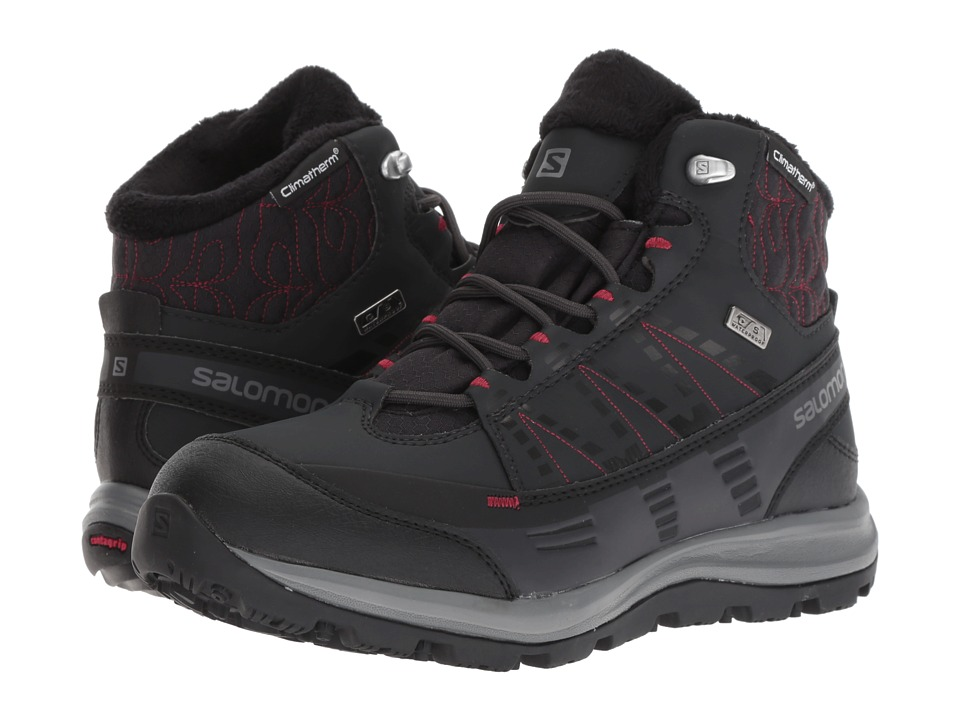 Salomon Kaina CS WP 2 (Phantom/Black/Beet Red) Women's Shoes