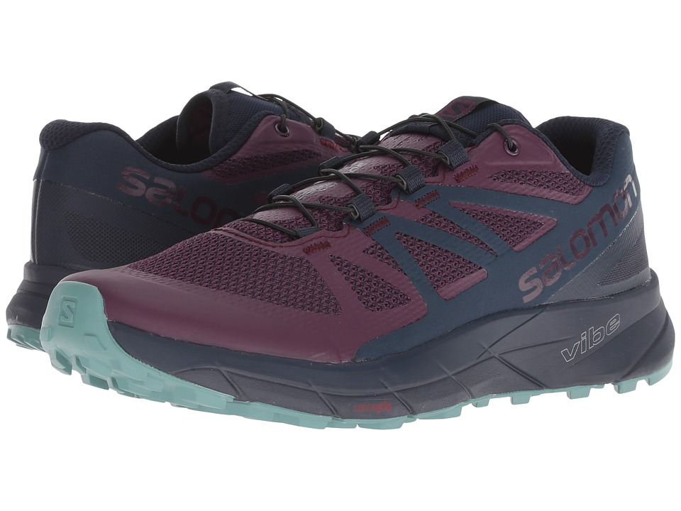 Salomon Sense Ride (Potent Purple/Graphite/Navy Blazer) Women's Shoes
