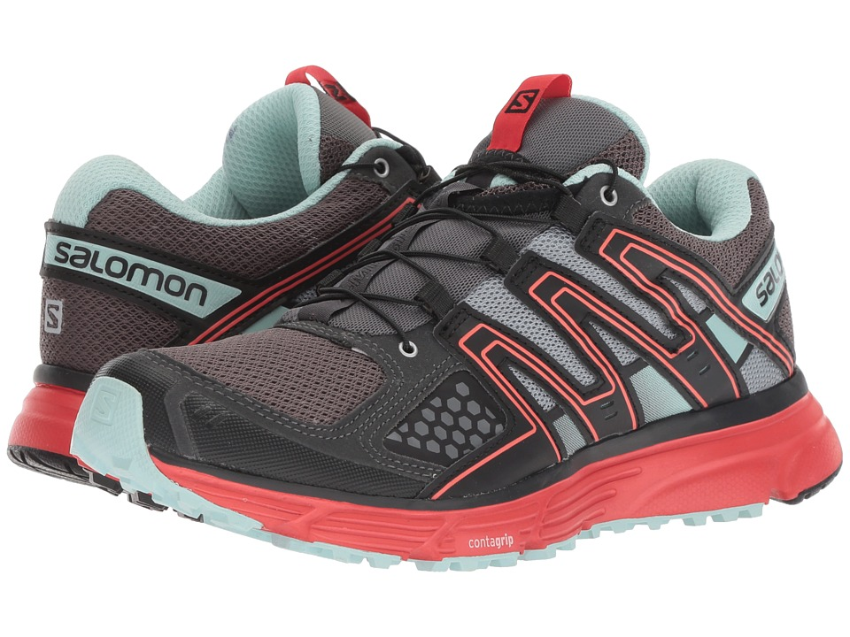 Salomon X-Mission 3 (Magnet/Black/Poppy Red) Women's Shoes