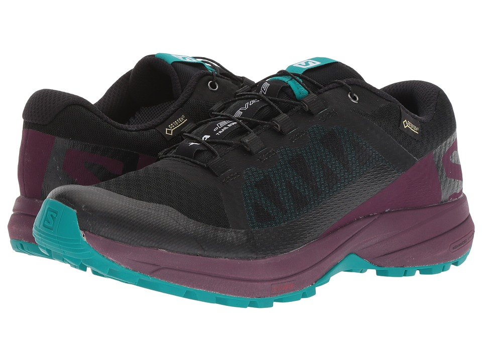 Salomon XA Elevate GTX (Black/Potent Purple/Tropical Green) Women's Shoes