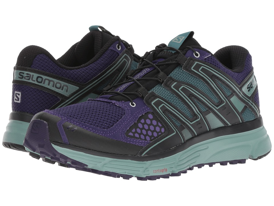 Salomon X-Mission 3 (Parachute Purple/Trellis/Black) Women's Shoes