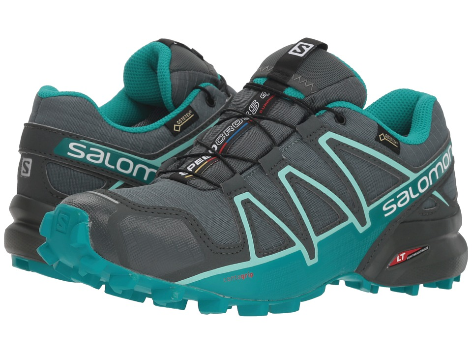 Salomon Speedcross 4 GTX (Balsam Green/Tropical Green/Beach Glass) Women's Shoes