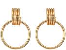 SHASHI Lila Hoop Earrings
