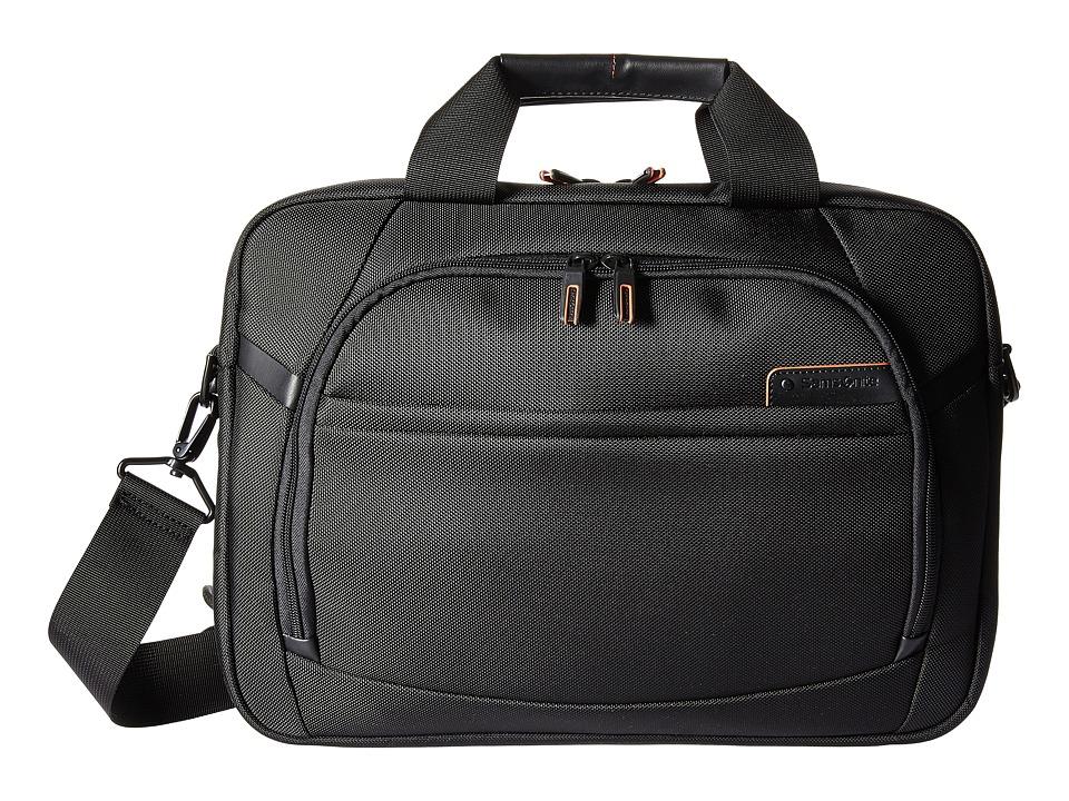 Samsonite PRO 4 DLX 15.6 Laptop Slim Brief (Black) Briefc...