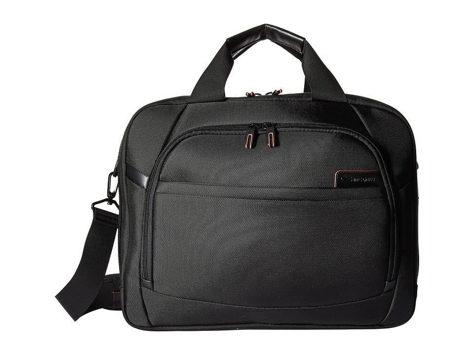 Samsonite PRO 4 DLX 15.6 Laptop Two Gusset Brief (Black) ...