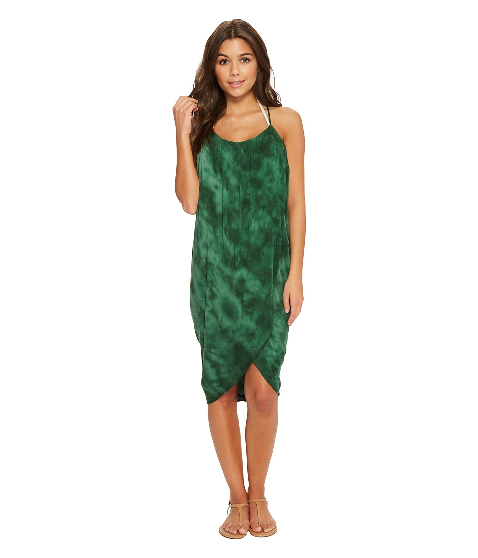 Green Dragon - Crystal Forest Genevieve Wrap Dress