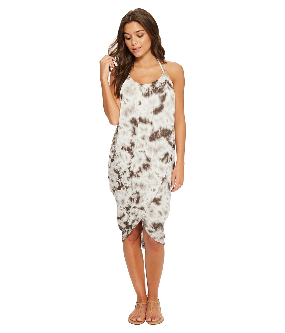 Green Dragon - Crystal Forest Genevieve Wrap Dress (Charc...
