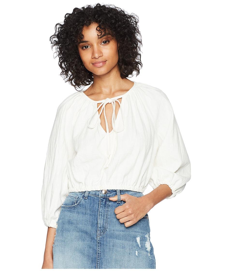 Rachel Pally - Cleo Top (White) Womens Clothing