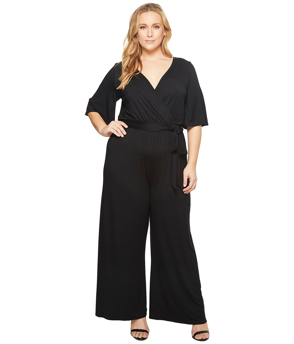 Rachel Pally - Plus Size Meridith Jumpsuit (Black) Womens Jumpsuit & Rompers One Piece