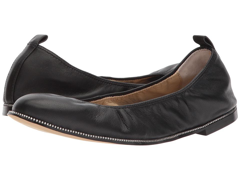 Botkier Mason Ballet (Black Leather) Flats