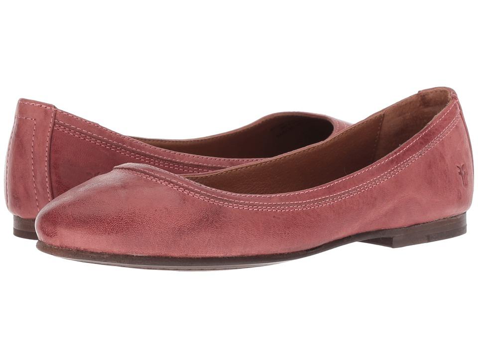 Frye Carson Ballet (Salmon) Flats