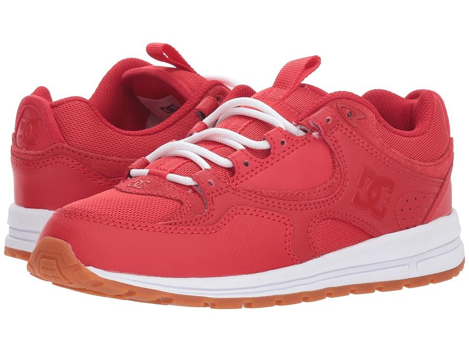 DC Kalis Lite (Red/White) Women's Skate Shoes