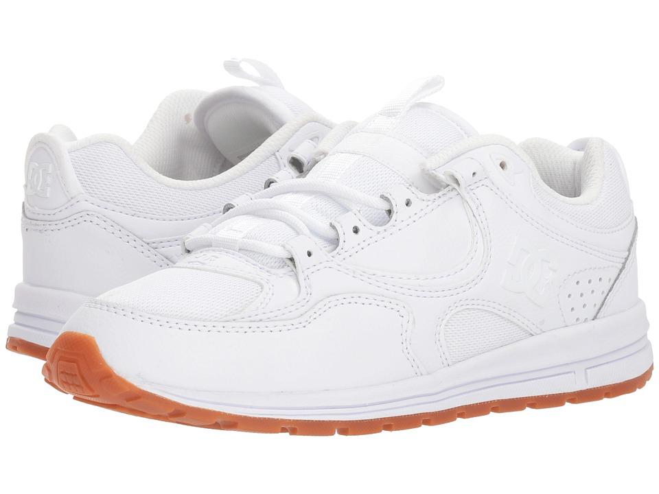 DC Kalis Lite (White/Gum) Women's Skate Shoes