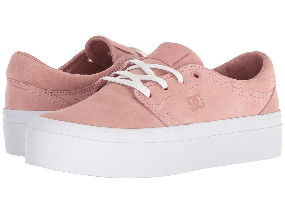 DC Trase Platform LE (Peach Parfait) Women's Skate Shoes