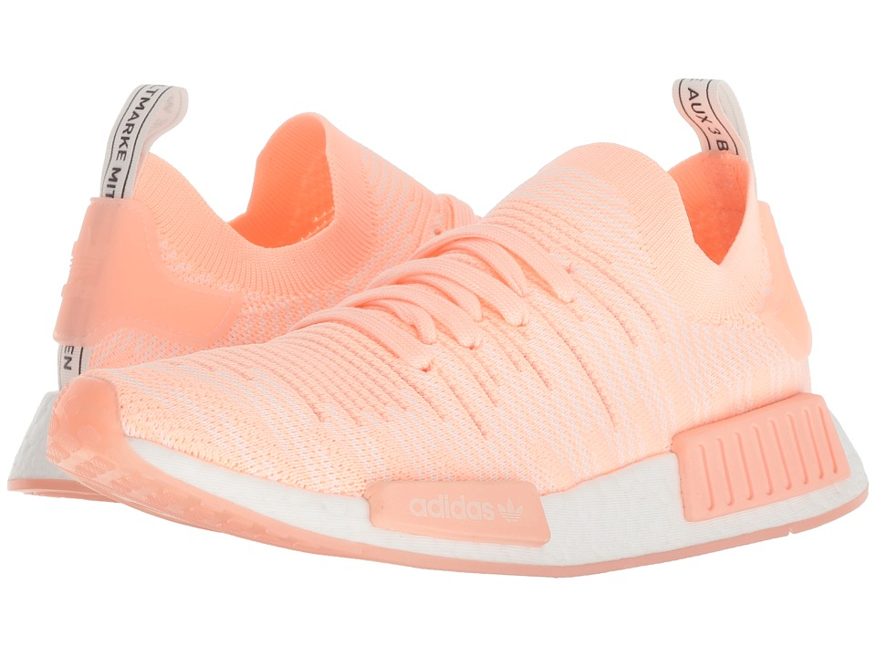 adidas Originals NMD_R1 (Pink/Clear Orange/Clear Orange/Cloud White) Women's Running Shoes