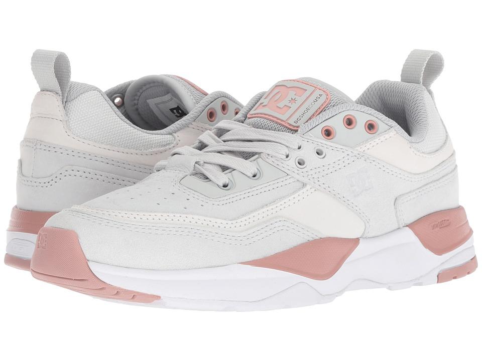 DC E.Tribeka Women's (Grey/Pink) Women's Skate Shoes