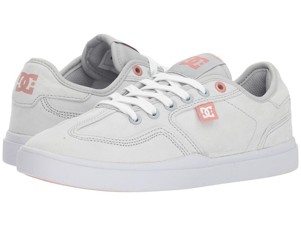 DC Vestrey LE (Grey/Grey/White) Women's Skate Shoes
