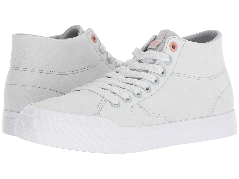 DC Evan Hi Zero LE (Grey/Grey/Grey) Women's Skate Shoes