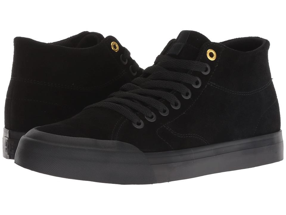 DC Evan Hi Zero SE (Black/Black/Black) Women's Skate Shoes