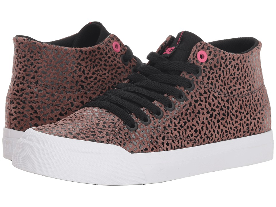 DC Evan Hi Zero SE (Cheetah Print) Women's Skate Shoes
