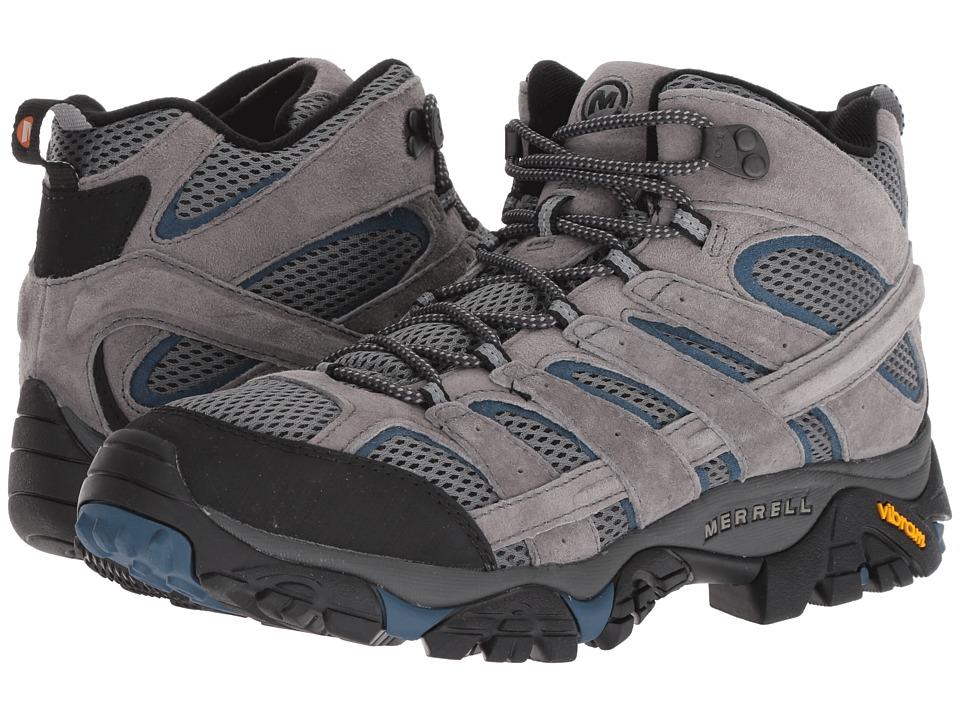 Merrell Moab 2 Vent Mid (Castle/Wing) Men's Shoes