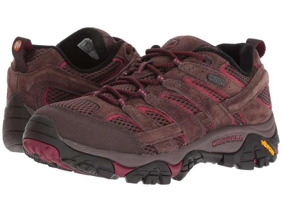 Merrell Moab 2 Waterproof (Espresso) Women's Shoes