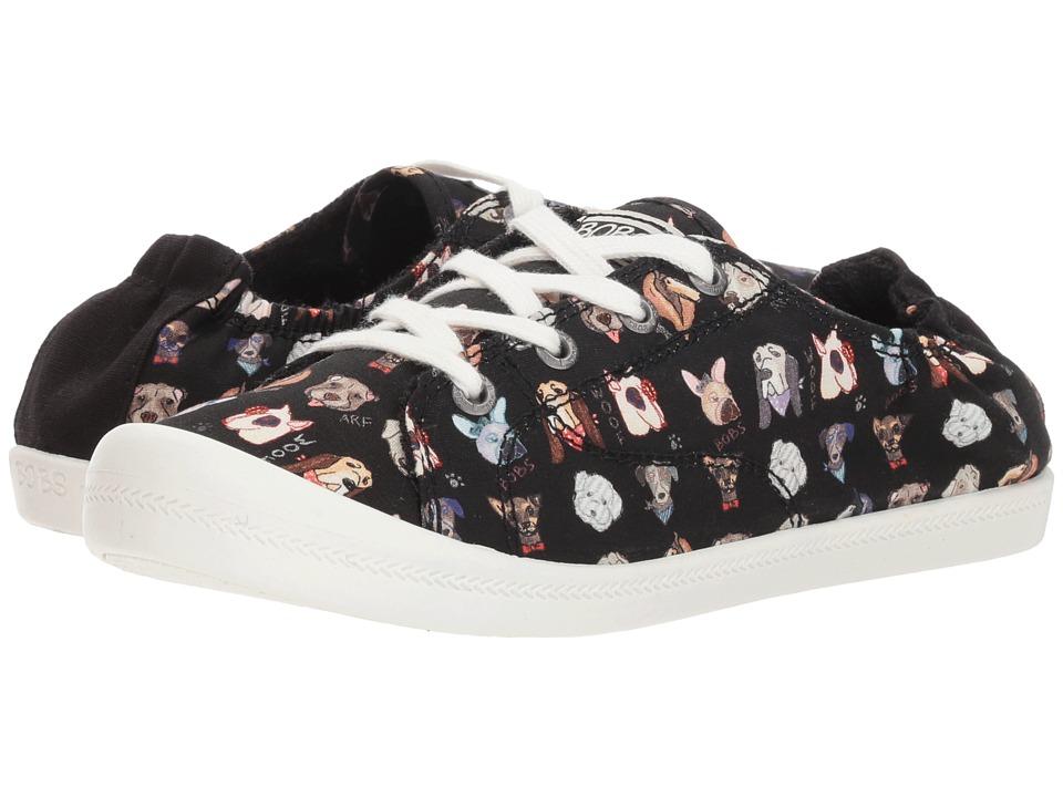 BOBS from SKECHERS Beach Bingo - Dapper (Black) Women's Shoes