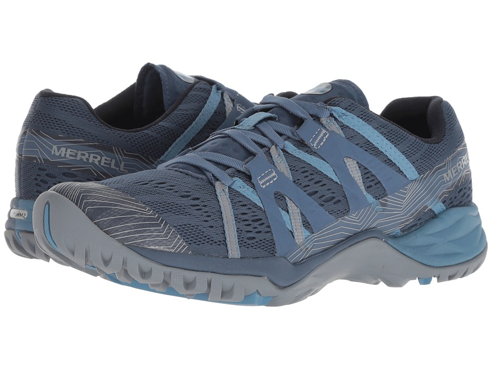 Merrell Siren Hex Q2 E-Mesh (Bering Sea) Women's Shoes