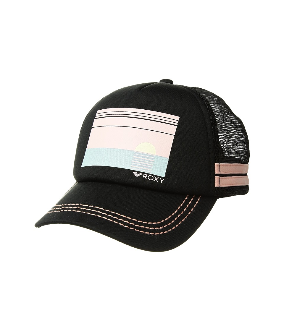 Roxy - Dig This Trucker Hat (Anthracite/Rose Tan) Caps