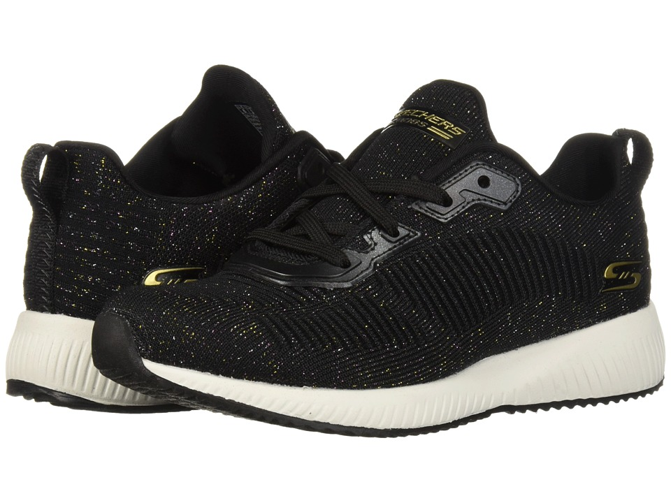 BOBS from SKECHERS Bobs Squad - Total G (Black Multi) Women's Shoes
