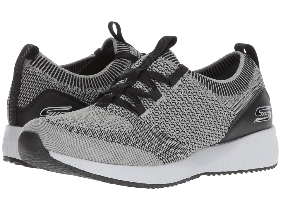 BOBS from SKECHERS Bobs Squad - Alpha G (Gray Black) Women's Shoes