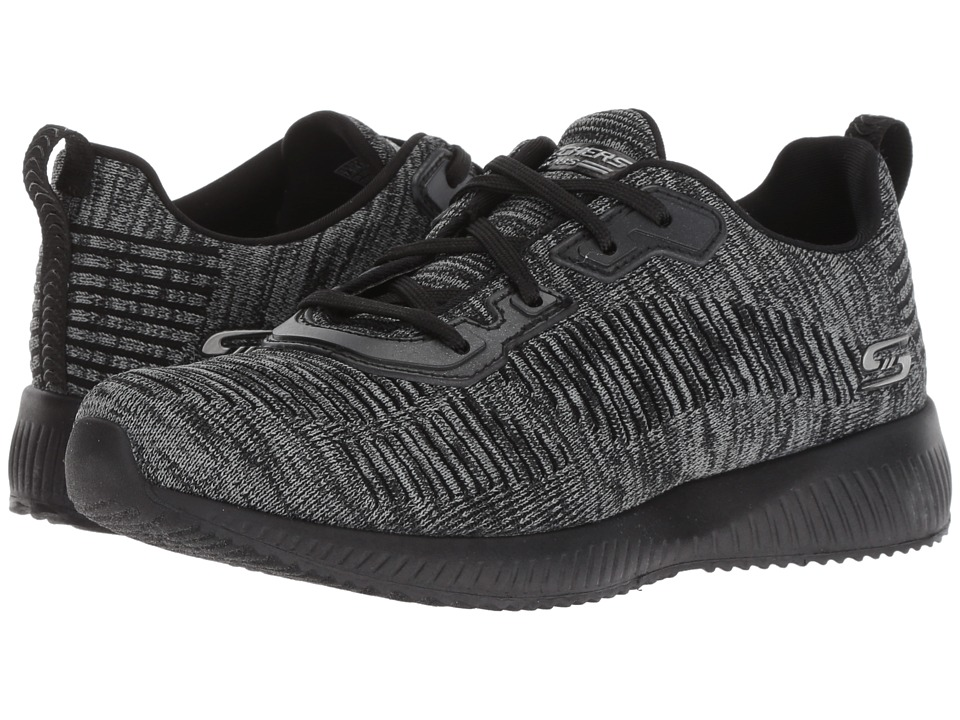 BOBS from SKECHERS Bobs Squad - Total H (Black/Charcoal) Women's Shoes