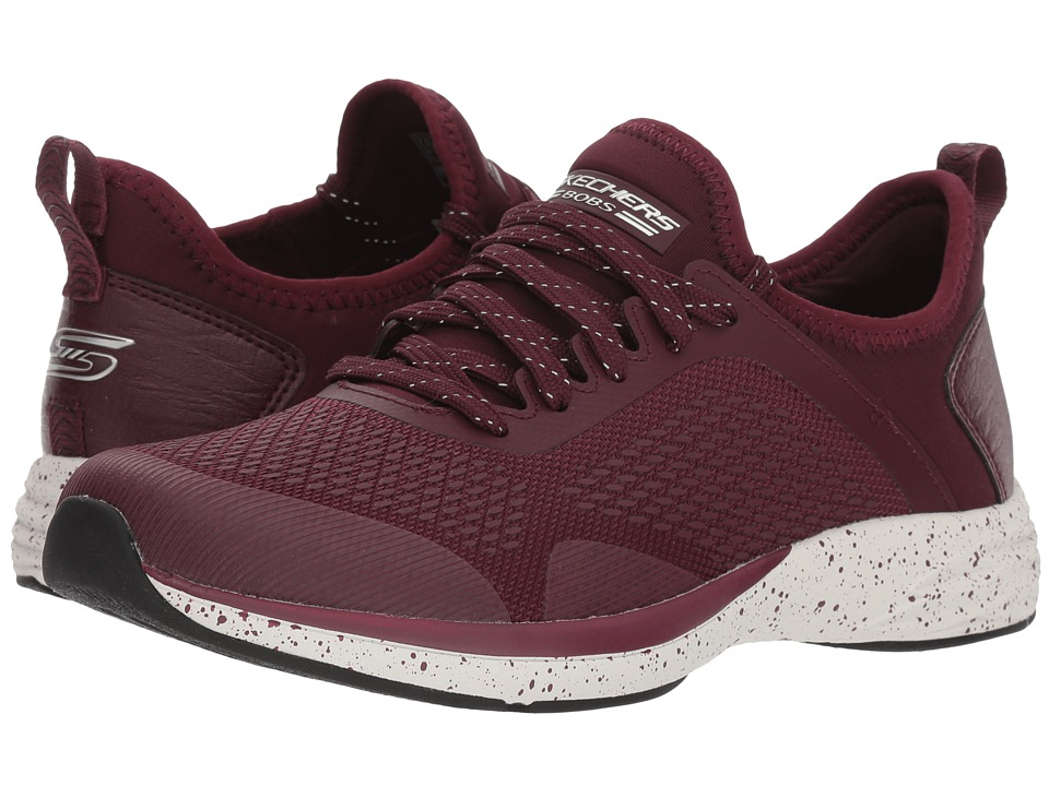 BOBS from SKECHERS Bobs Clique - Fierce (Burgundy) Women's Shoes