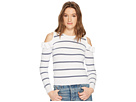 Jack by BB Dakota Eloisa Cold Shoulder Striped Sweater