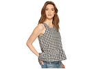 Jack by BB Dakota Pax Gingham Cross-Back Top