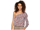 Jack by BB Dakota Varda Ditzy Blossom Printed Crinkle Rayon Top
