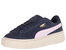 Puma Kids Suede Platform SNK (Big Kid)