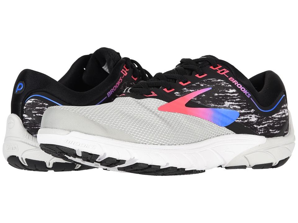 Brooks PureCadence 7 (Grey/Black/Pink) Women's Running Shoes