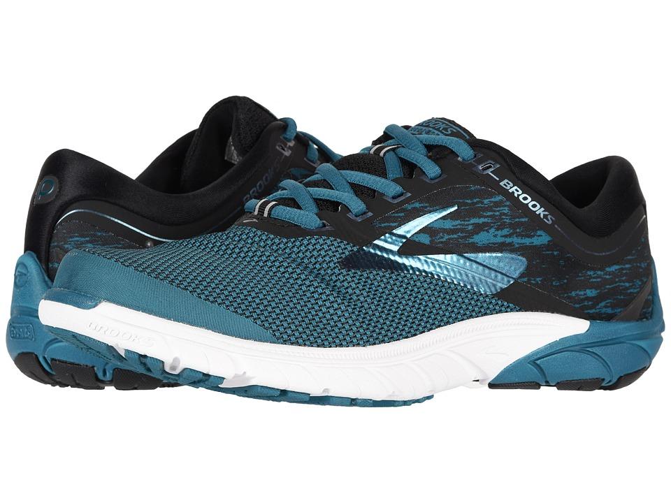Brooks PureCadence 7 (Lagoon/Black/Multi) Women's Running Shoes
