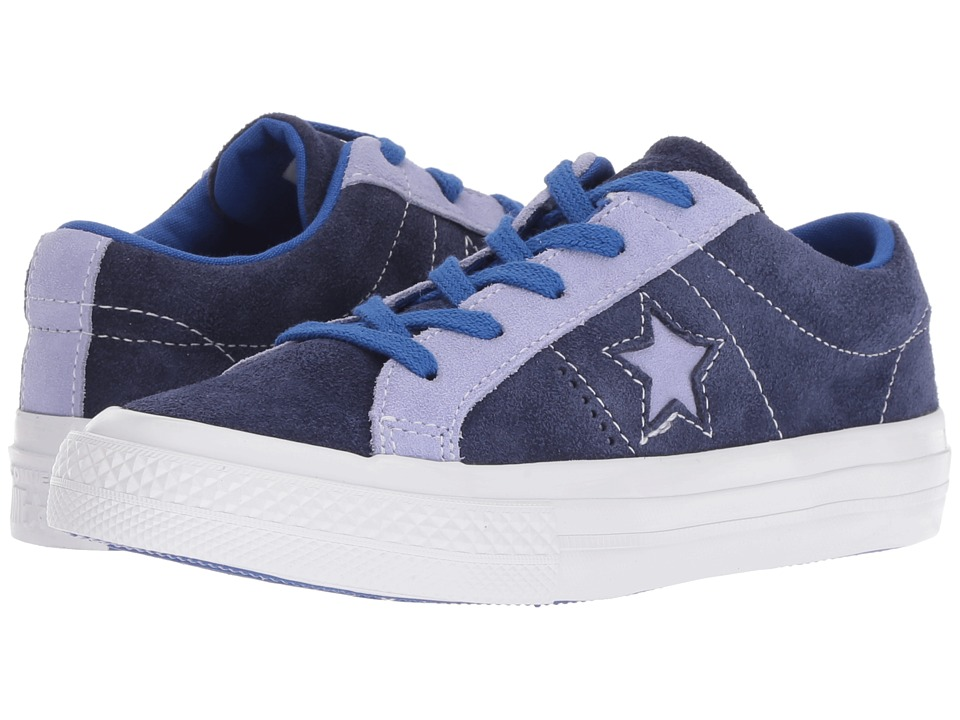 Converse Kids One Star Ox (Little Kid) (Eclipse/Twilight Pulse/Hyper Royal) Boy