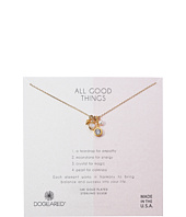 All Good Things, Moonstone Peal Cluster Necklace  Gold