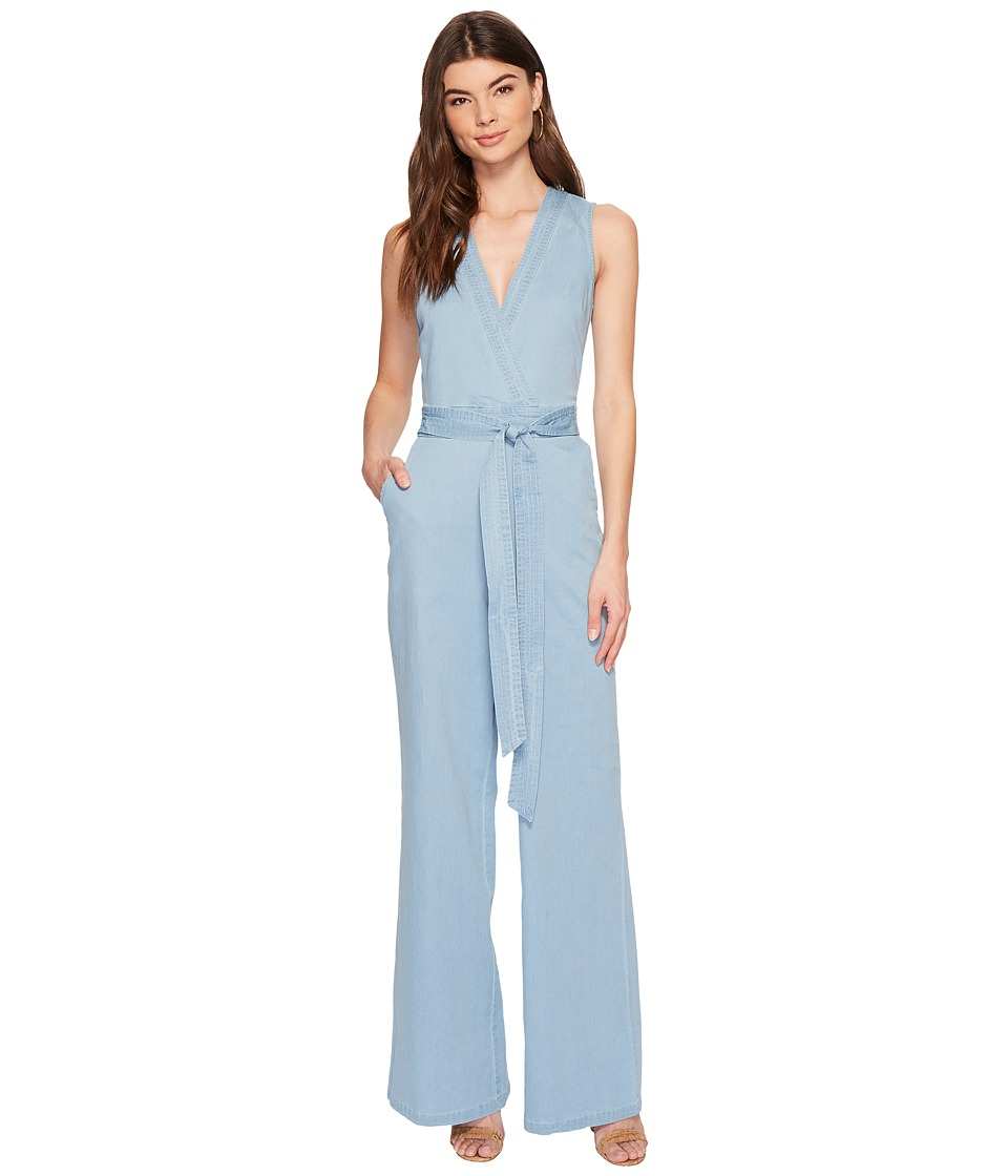 Jack by BB Dakota - Suko Stretch Jumpsuit (Washed Out Chambray) Womens Jumpsuit & Rompers One Piece