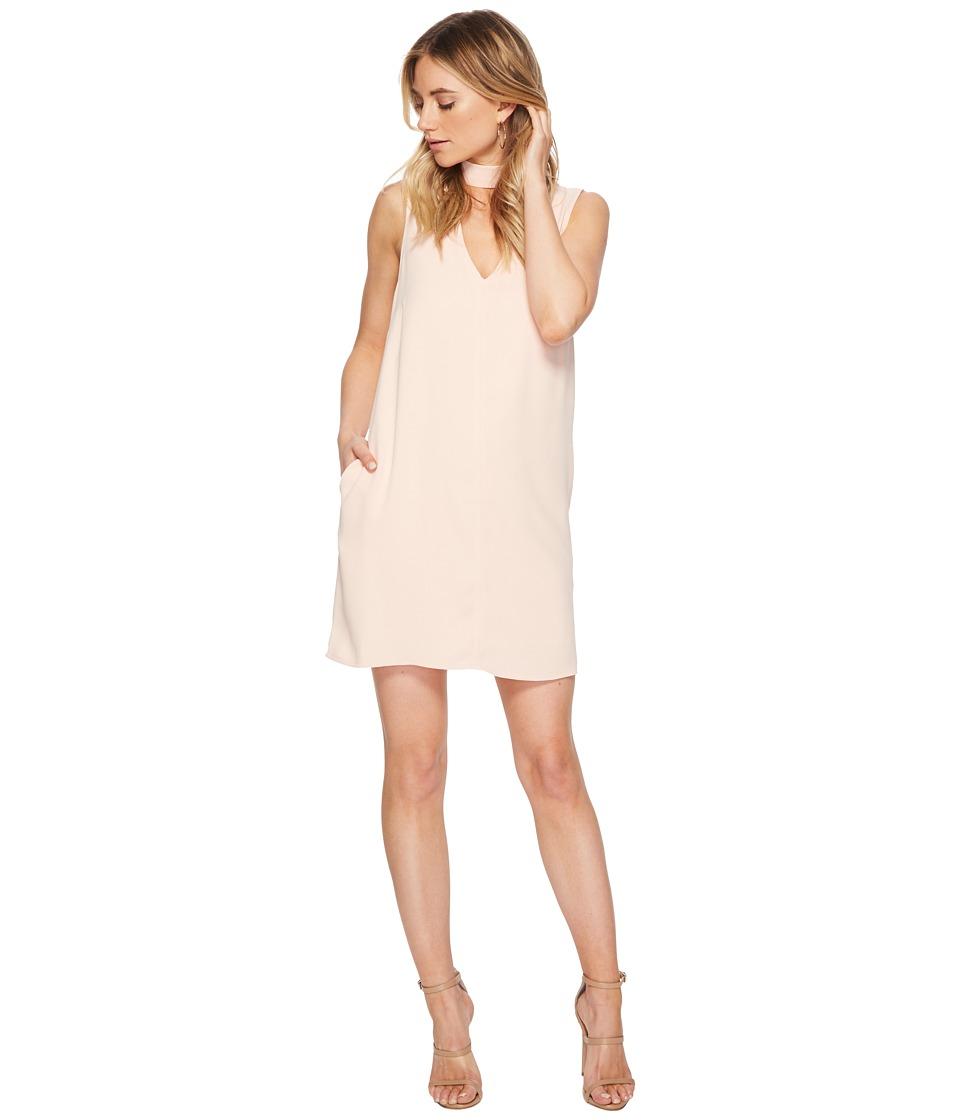 Jack by BB Dakota - Momsen Crepe Shift Dress (Dusty Rose) Womens Dress