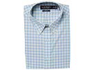 LAUREN Ralph Lauren LAUREN Ralph Lauren Stretch Slim Fit No-Iron Plaid Dress Shirt
