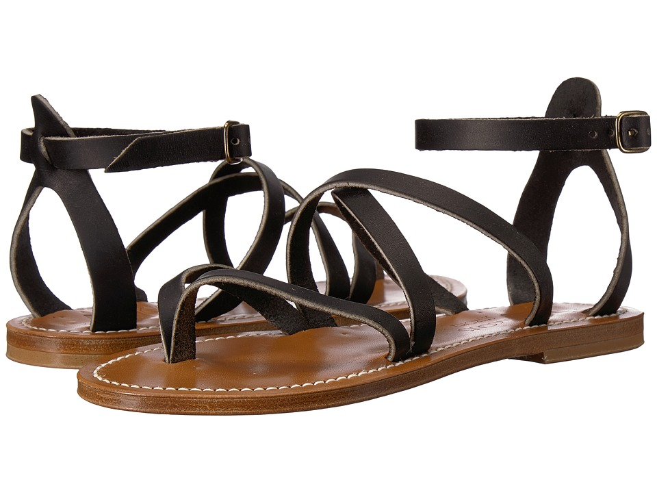 K.Jacques - Epicure Pul Sandal (Noir Black) Womens Sandals