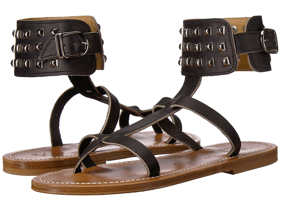 K.Jacques - Forban Pul Sandal (Noir Black) Womens Sandals