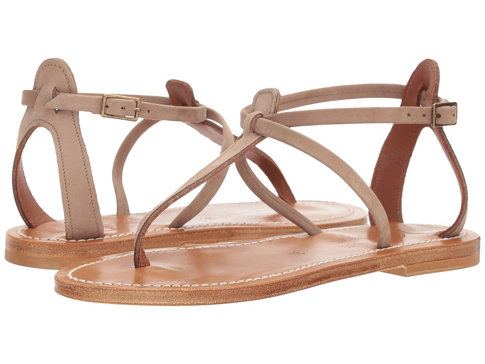 K.Jacques - Buffon Nubuck Sandal (Costa Brown) Womens Sandals