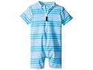 Toobydoo Toobydoo Aqua Stripe Sunsuit (Infant/Toddler)